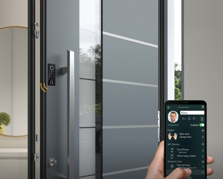 Aluminium hochwertigen Haustüren