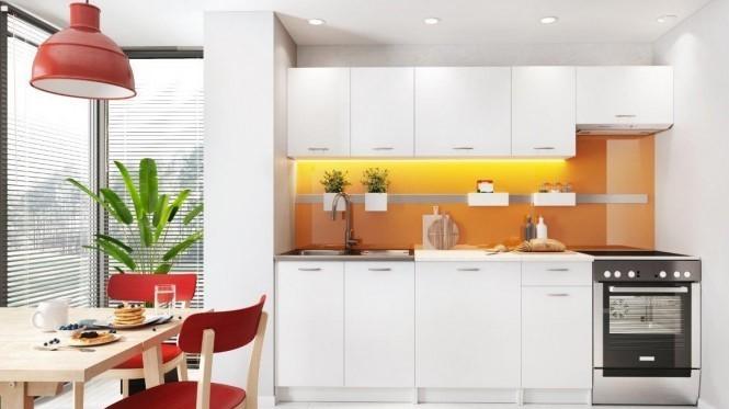 Küche und Beleuchtung